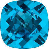 Best Price Swiss Blue  Topaz Gem in Checkerboard Antique Square Cut AAA Grade