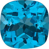 Grade AAA Best Swiss Blue Antique Square Cut Topaz Gem