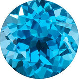 Round Cut Discount Price Swiss Blue  Topaz Gem in AAA Grade