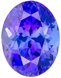 Good Looking Oval Cut Loose Tanzanite Gems in Grade AA