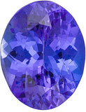 Grade AAA Top Quality Genuine Tanzanite Gemstones in Oval Cut
