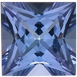 Best Price Grade AAA Genuine Tanzanite Gemstones in Princess Cut