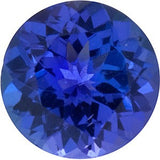 Natural Grade GEM Loose Tanzanite Gems in Round Cut