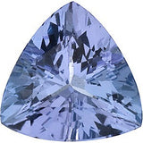 Grade AA Calibrated Size Genuine Tanzanite Gemstones in Trillion Cut