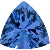 Beautiful Grade GEM Genuine Tanzanite Gemstones in Trillion Cut