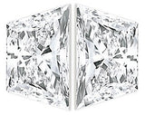 Natural Genuine Brilliant Cut Matched Pair of Trapezoid Shape Diamonds, Brilliant Cut, G-H Color - VS Clarity, 4.30 x 2.70 mm to 6.20 x 3.50 mm Sizes