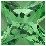 Genuine AA Grade Tsavorite Garnet Loose Gems in Princess Cut