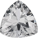 Genuine Trillion Cut White Sapphire Gemstone in AAA Grade