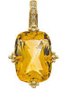 Bold Genuine Gemstone Citrine Pendant for SALE at BitCoin Gems