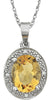 Chic Genuine Gemstone Citrine Pendant for SALE at BitCoin Gems