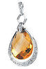 Amazing Genuine Gemstone Citrine Pendant for SALE at BitCoin Gems