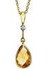 Elegant Genuine Gemstone Citrine Pendant for SALE at BitCoin Gems