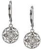 Eye Catching Genuine Gemstone Diamond Earrings at BitCoin Gems