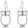Astonishing Genuine Gemstone Diamond Earrings at BitCoin Gems