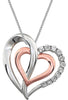 Romantic Genuine Gemstone Diamond Pendant for SALE at BitCoin Gems