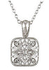 Intricate Genuine Gemstone Diamond Pendant for SALE at BitCoin Gems