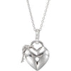 Flirty Genuine Gemstone Diamond Pendant for SALE at BitCoin Gems