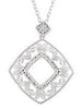 Stunning Genuine Gemstone Diamond Pendant for SALE at BitCoin Gems