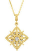 Gorgeous Genuine Gemstone Diamond Pendant for SALE at BitCoin Gems