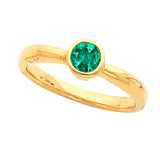Best Emerald Genuine Gemstone Ring at BitCoin Gems