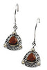 Fabulous Genuine Gemstone Garnet Earrings at BitCoin Gems