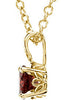 Ravishing Genuine Gemstone Garnet Pendant for SALE at BitCoin Gems