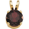 Fetching Genuine Gemstone Garnet Pendant for SALE at BitCoin Gems