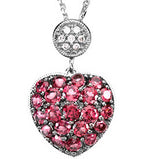 Endearing Genuine Gemstone Garnet Pendant for SALE at BitCoin Gems