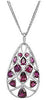 Spectacular Genuine Gemstone Garnet Pendant for SALE at BitCoin Gems