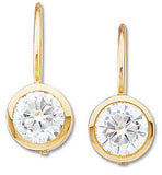 Excellent Genuine Gemstone Moissanite Earrings at BitCoin Gems
