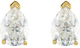 Exquisite Genuine Gemstone Moissanite Earrings at BitCoin Gems
