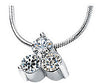 Modern Genuine Gemstone Moissanite Pendant for SALE at BitCoin Gems