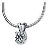 Chic Genuine Gemstone Moissanite Pendant for SALE at BitCoin Gems
