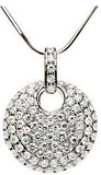 Fabulous Genuine Gemstone Moissanite Pendant for SALE at BitCoin Gems