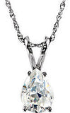 Spectacular Genuine Gemstone Moissanite Pendant for SALE at BitCoin Gems