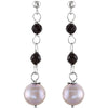 Fun Genuine Gemstone Multi Earrings at BitCoin Gems