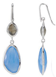 Urban Chic Genuine Gemstone Multi Gem Earrings at BitCoin Gems