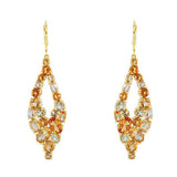 Breathtaking Genuine Gemstone Multi Earrings at BitCoin Gems