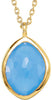 Trendy Genuine Gemstone Multi Gem Pendant With Turquoise, Quartz & Moonstone for SALE at BitCoin Gems