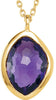 Super Glam Genuine Gemstone Multi Gem Pendant With Amethyst, Quartz & Moonstone for SALE at BitCoin Gems
