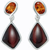 Beautiful Genuine Gemstone Multi Earrings at BitCoin Gems
