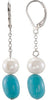 On Trend Genuine Gemstone Multi Earrings at BitCoin Gems