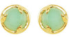 Fancy Genuine Gemstone Earrings at BitCoin Gems, Choose Amethyst, Chrysoprase, Labradorite, Onyx or Turquoise