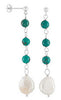 Urban Chic Genuine Gemstone Multi Earrings at BitCoin Gems