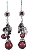 Unbelievable Genuine Gemstone Multi Earrings at BitCoin Gems
