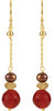 Tribal Chic Genuine Gemstone Multi Earrings at BitCoin Gems