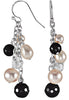 Trendy Genuine Gemstone Multi Earrings at BitCoin Gems
