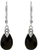 Bold & Beautiful Genuine Gemstone Onyx Earrings at BitCoin Gems