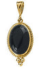 Amazing Genuine Gemstone Onyx Pendant for SALE at BitCoin Gems