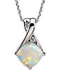 Magnificent Genuine Gemstone Opal Pendant for SALE at BitCoin Gems